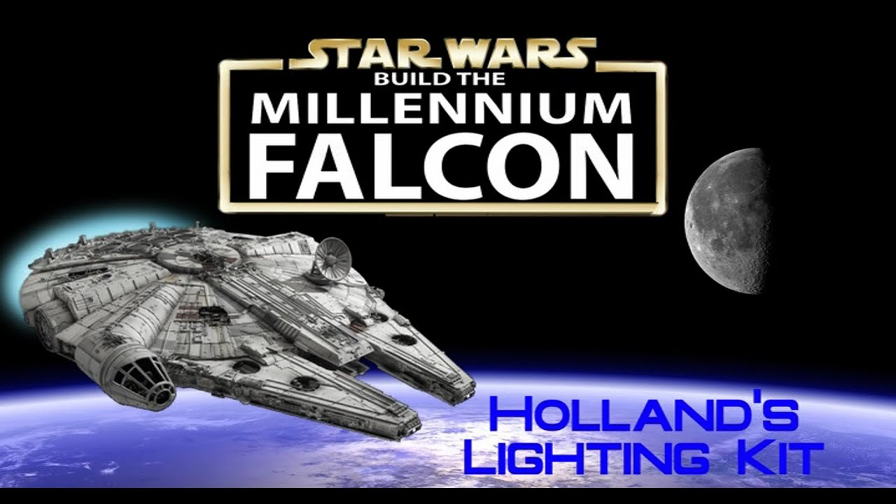 Build The Millennium Falcon 3rd Party Add Ons Hollands Lighting Diagram Builder Kit Youtube