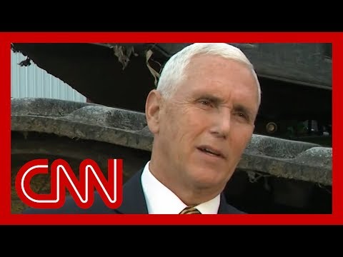 Mike Pence's Ukraine denial stuns Anderson Cooper