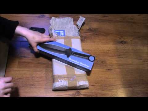 Cold steel Shanghai Shadow Unboxing