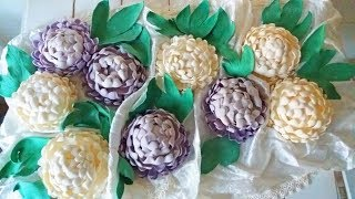 Необычный и Легкий Цветок на Торт из Мастики. Пошагово (Моя флористика) / Easy Cake Decor. Flower