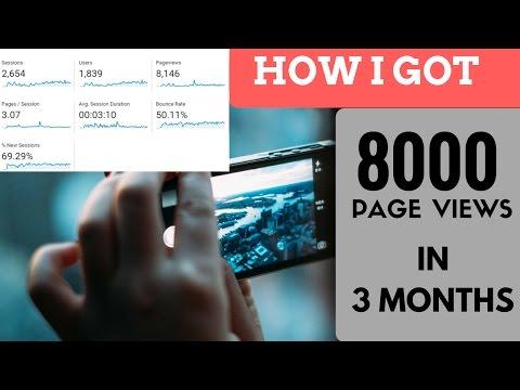 FREE Organic Traffic for website | 100% working tricks Proof 2017