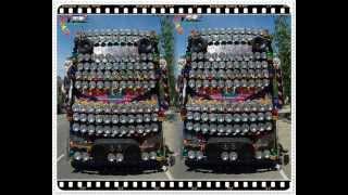 Bus (Fan Buses) รถบัสพัดลม & เพลงแดนซ์ Remix