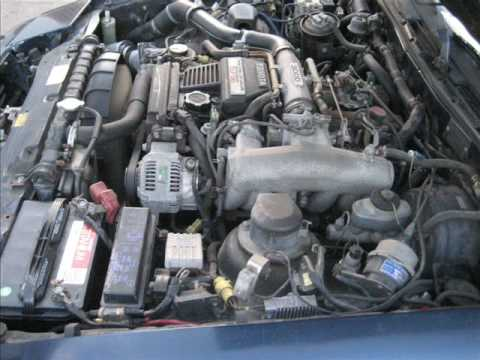 1987 Toyota Supra Turbo W/ Targa Top FOR SALE - YouTube