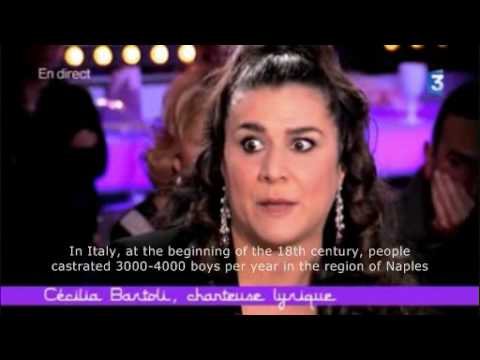Interview of Cecilia Bartoli with subtitles (1 of 3)