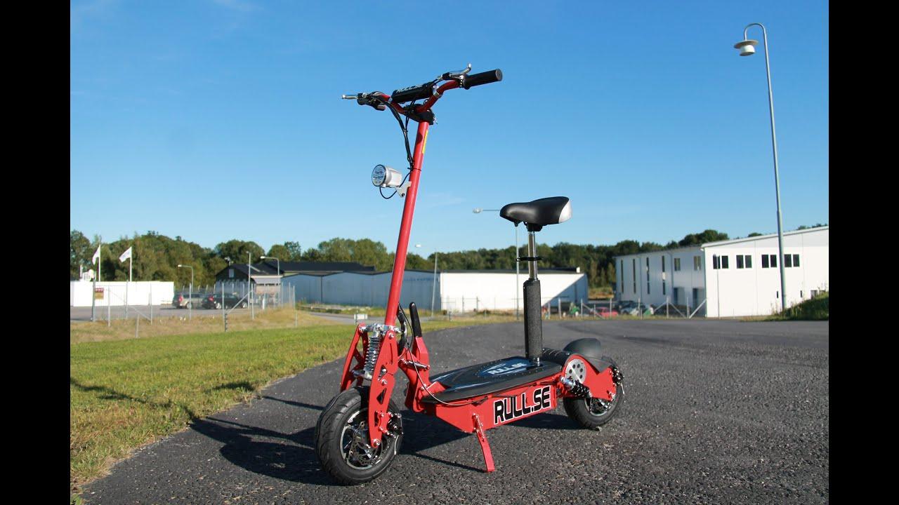 561b5ae5d Rull.se demonstrerar El-scooter 1600W, borstlös