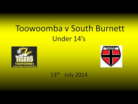 Toowoomba v South Burnett u14s 13.7.14