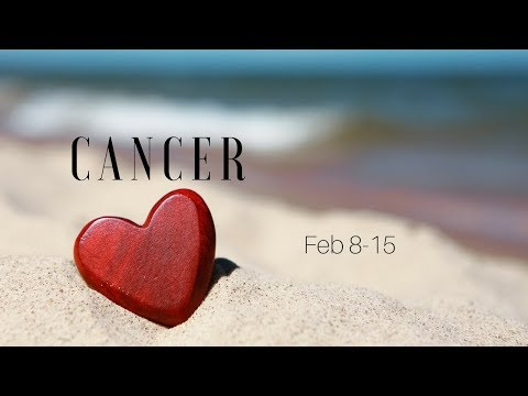 The stalemate is broken, CANCER. The truth comes out Feb 8-15
