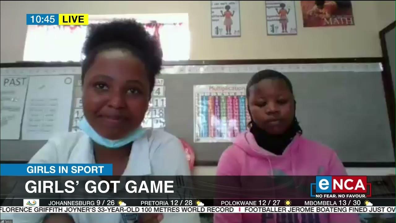 Screen time for schoolgirl sports stars