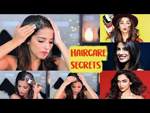 Bollywood Celebrities Haircare Secrets For Long Beautiful Hair | Celebrity Hair Secrets At Home