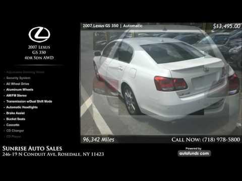 Used 2007 Lexus GS 350 | Sunrise Auto Sales, Rosedale, NY