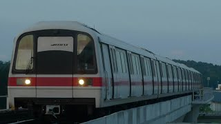 East West Line ride from Pasir Ris to Tuas Link