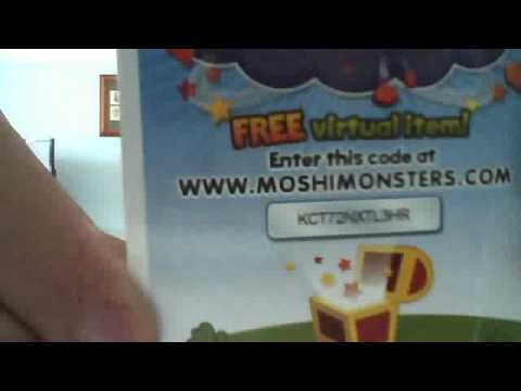 MOSHI MONSTERS MAP CODES X3 - YouTube