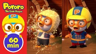 Ep11 - Ep15 (60min) Pororo English Animation | Animation for Kids | Pororo the Little Penguin