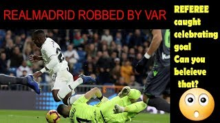 Real Madrid outraged at VAR as match referee celebrates vs Real Sociedad