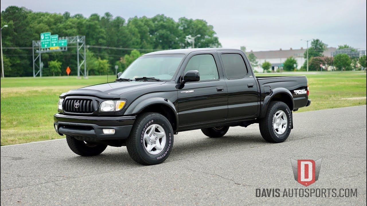 davis autosports 2004 toyota tacoma trd 4x4 low miles 1 owner 4 door youtube. Black Bedroom Furniture Sets. Home Design Ideas