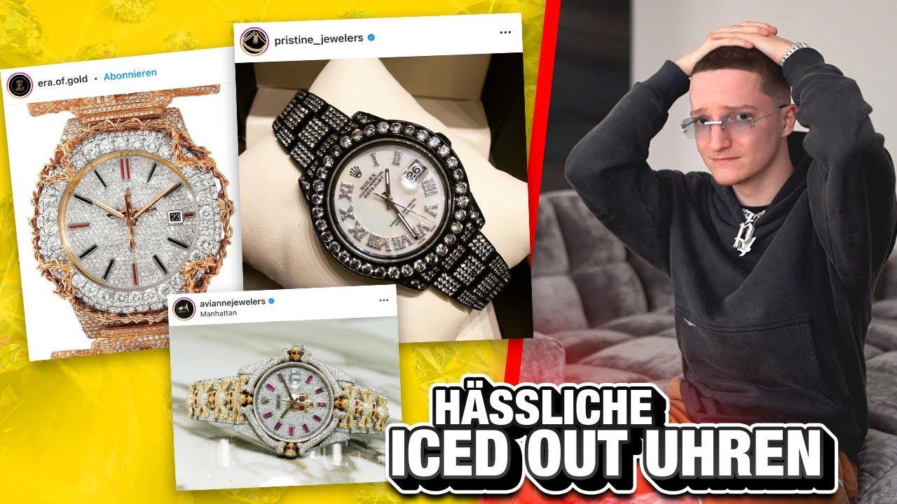 Die 6 hässlichsten Iced Out Uhren.. 🤢