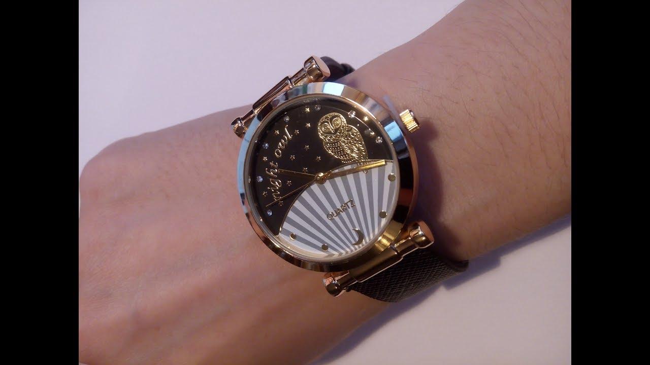 Отличный подарок девушкам!!! Женские наручные часы СК с Aliexpress .