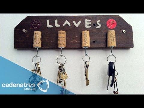 Btr perchero o porta llaves para tu cuarto economico y doovi - Porta llaves pared ...