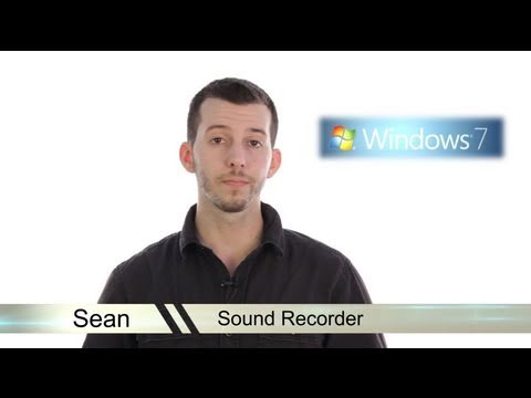 Learn Windows 7 - Sound Recorder