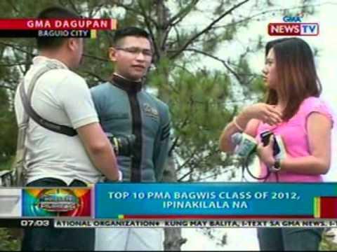BP: Top 10 PMA Bagwis class of 2012,   ipinakilala na