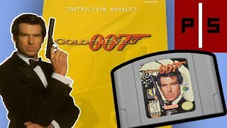 Goldeneye 007 (N64) | Manual Mania | Exploring Classic Video Game Manuals | Pixel Slayers 4K