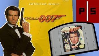 Goldeneye 007 (N64) | Manual Mania | Exploring Classic Video Game Manuals | Pixel Slayers 4K