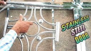 New Model Stainless Steel Door