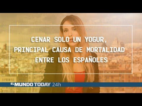 Cenar solo un yogur, principal causa de mortalidad entre los españoles | El Mundo Today 24H