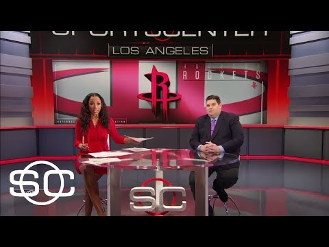 Brian Windhorst on Shaq's Rockets comments: They are built to beat Warriors | SportsCenter | ESPN