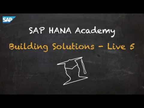 SAP HANA Academy - Live5: Initial Setup - XS Advanced Administration