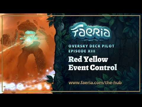 Faeria - Oversky Deck Pilot - Red Yellow Event Control