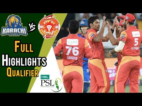 Full Highlights | Karachi Kings Vs Islamabad United  | Qualifier | 18 March | HBL PSL 2018