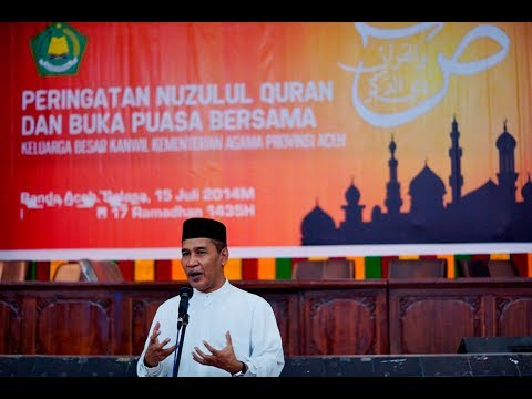 Depan Presiden Kumunitas Aceh di Malaysia TU SOP Ceramah Maulid