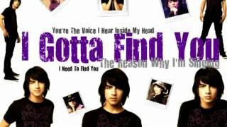 Gotta Find You Karaoke COVER