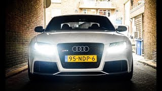 Audi RS5 w/ Akrapovic Exhaust - TUNNELSOUNDS & Accelerations!
