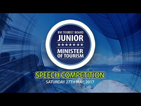BVI Tourist Board Junior Minister for Tourism Speech Competition 2017