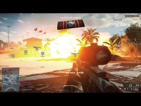 Battlefield 4 Sniping vs Battlefield 3 Sniping