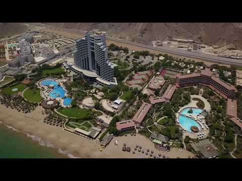 UAE, Fujairah Rotana Resort & Spa 5* - Al Aqah beach - Drone