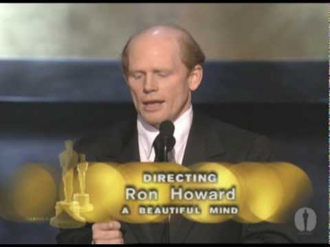 Ron Howard Wins Best Directing: 2002 Oscars