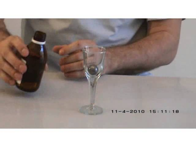 Quicksilver - Science experiment