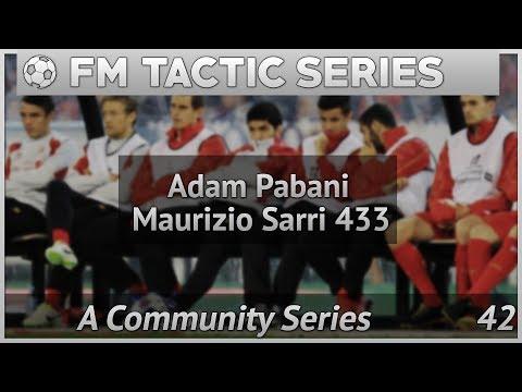 "FM | FM Tactics Adam's "" Sarri's NAPOLI 433""  Football Manager 2017"
