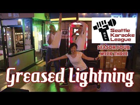 """""""Greased Lightning"""" by the Puget Noise - Seattle Karaoke League - Season 4 Week 3"""