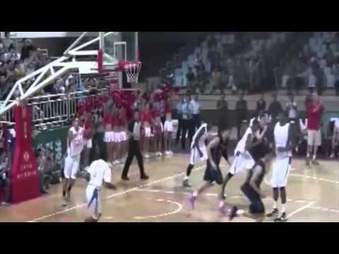 Mike Elliott Pro Basketball Highlights