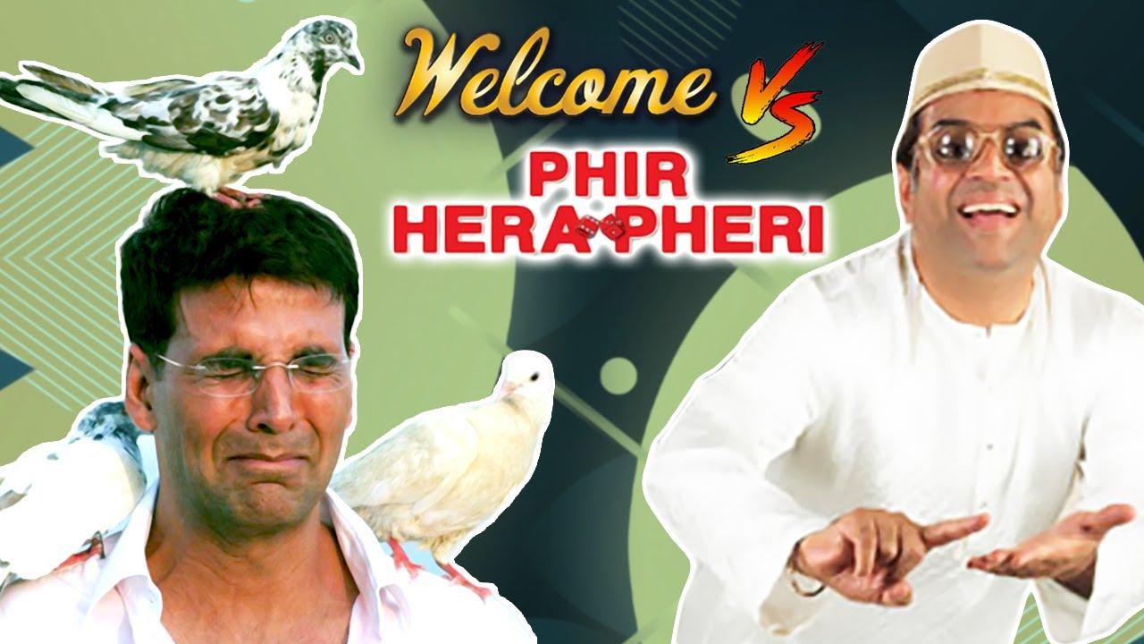 Welcome V/S Phir Hera Pheri - Best Of Comedy Scenes - Paresh Rawal - Akshay Kumar - Nana Patekar