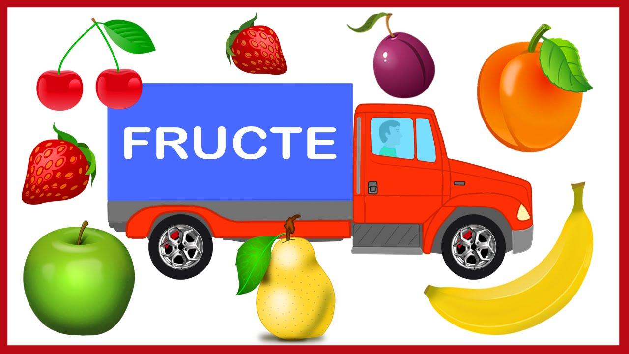 Fructele Camionul Cu Fructe Desene Educative Pentru Copii