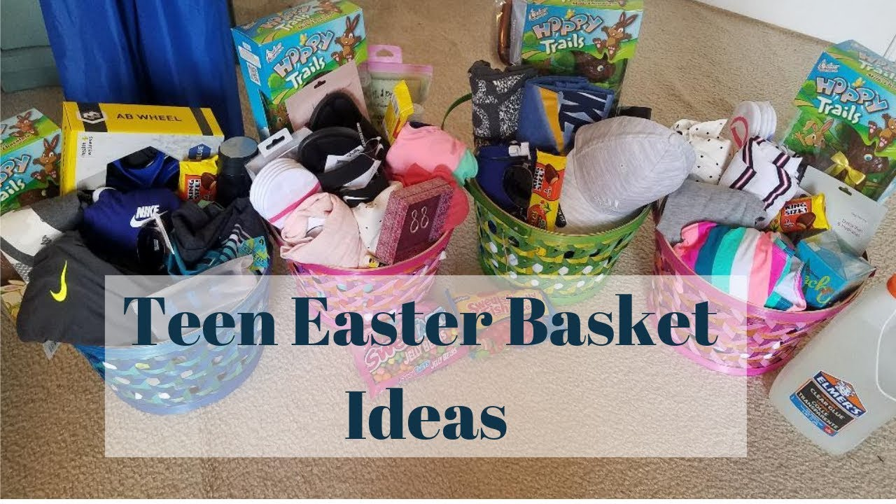 Easter Basket Ideas For Teens Boy And Girl Youtube