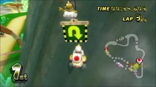 [Mario Kart Wii 300cc TAS] Mushroom Cup in 4:28.63