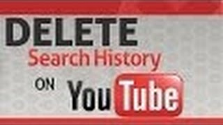 How to Delete Search History from YouTube???