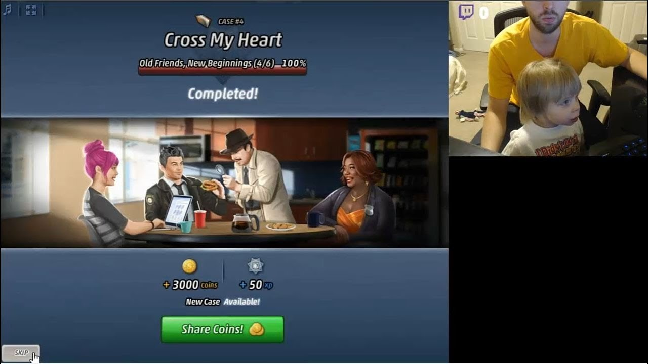 Criminal Case - The Conspiracy Case 4: Cross My Heart AI #4