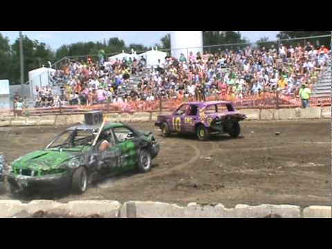 Edgewood demo derby 2011 - mid-size cars
